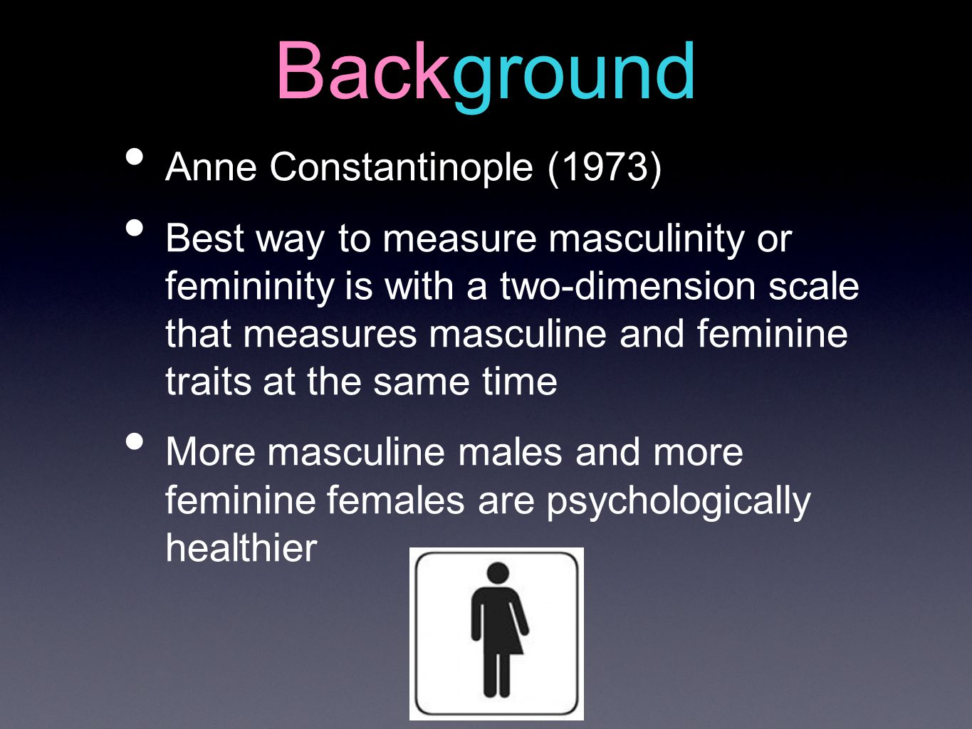 Background Anne Constantinople (1973)