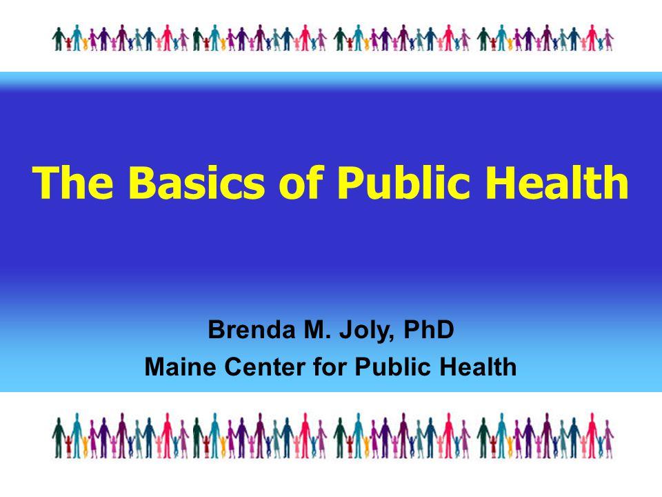 The Basics of Public Health