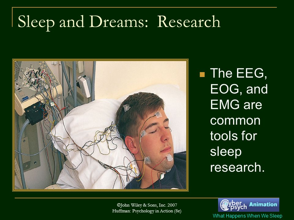 Sleep and Dreams: Research