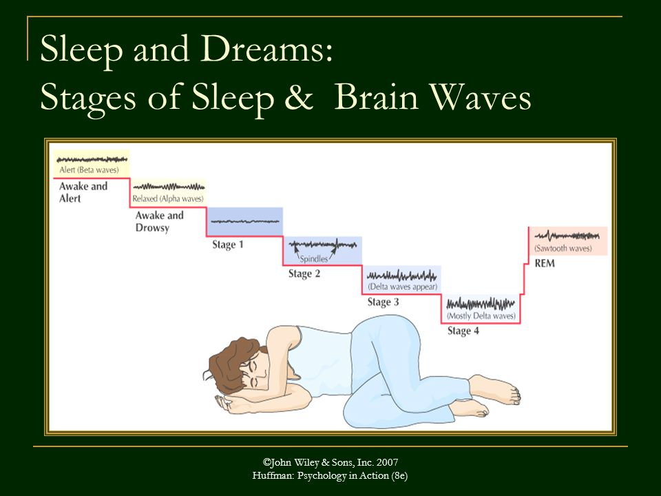 Sleep and Dreams: Stages of Sleep & Brain Waves