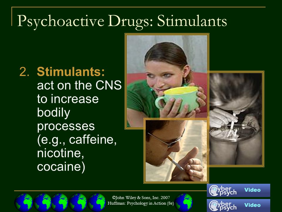 Psychoactive Drugs: Stimulants