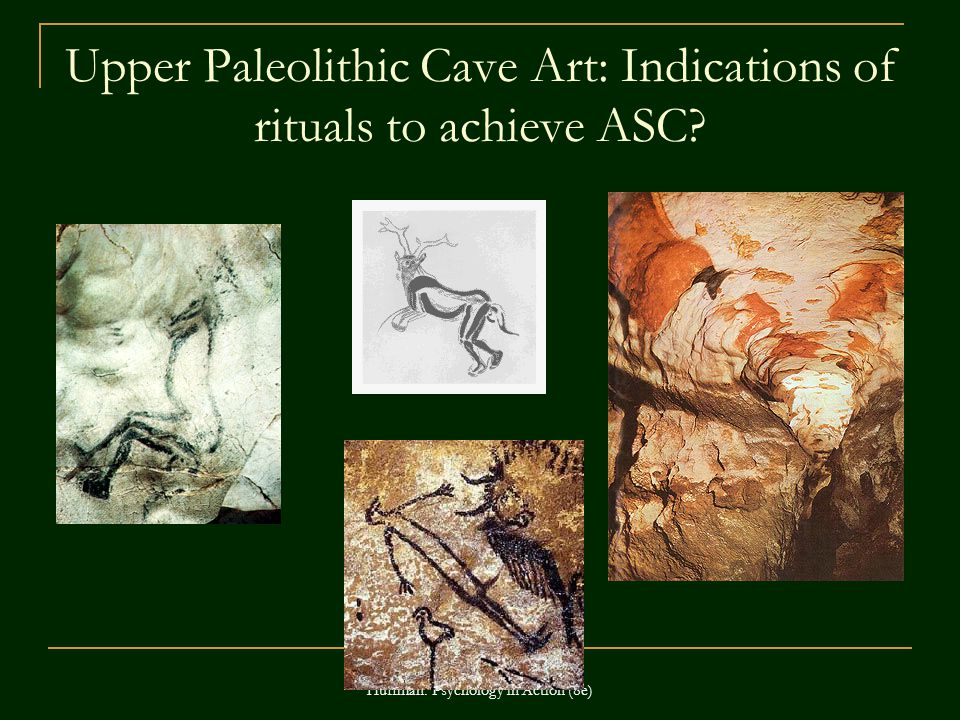 Upper Paleolithic Cave Art: Indications of rituals to achieve ASC