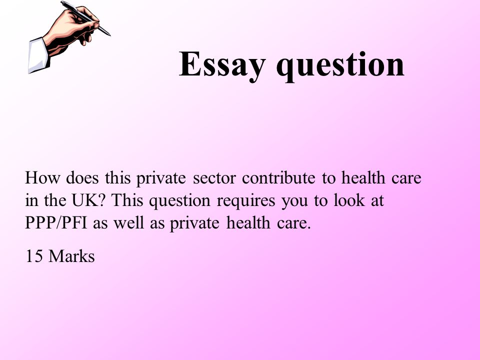 Essay question