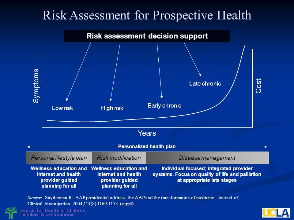 Risk assessment decision support