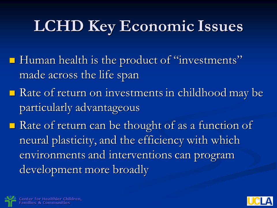 LCHD Key Economic Issues