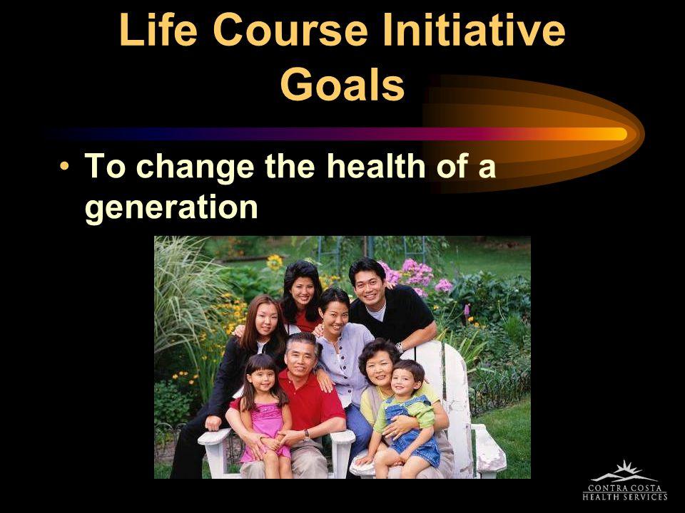 Life Course Initiative Goals