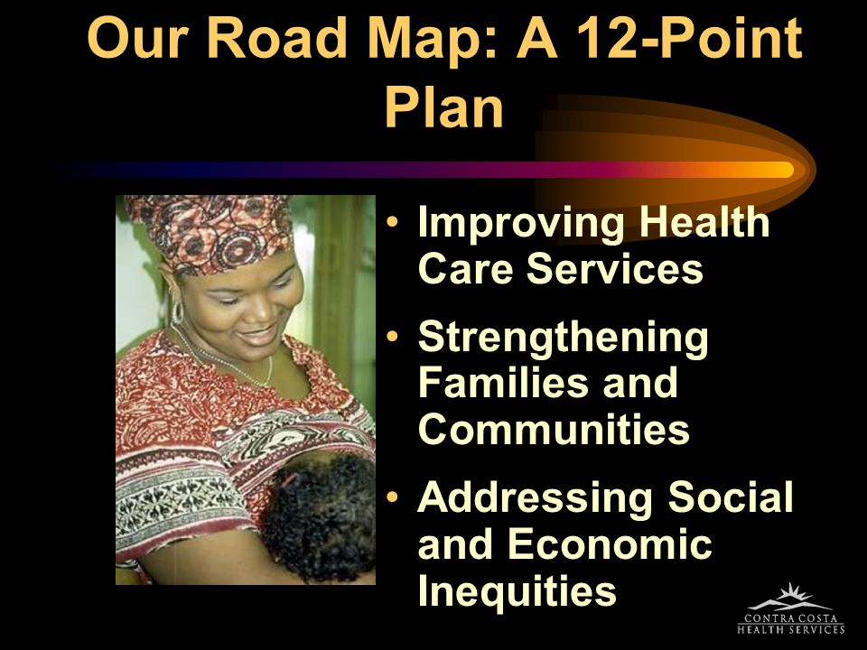 Our Road Map: A 12-Point Plan