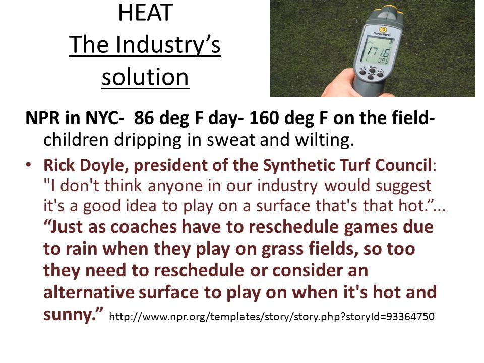 HEAT The Industry's solution