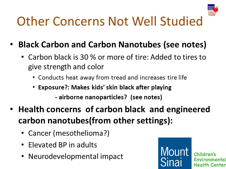 Other Concerns Not Well Studied