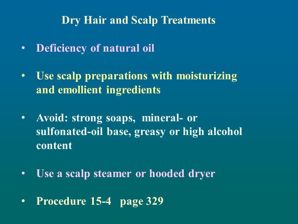 Dry Hair and Scalp Treatments