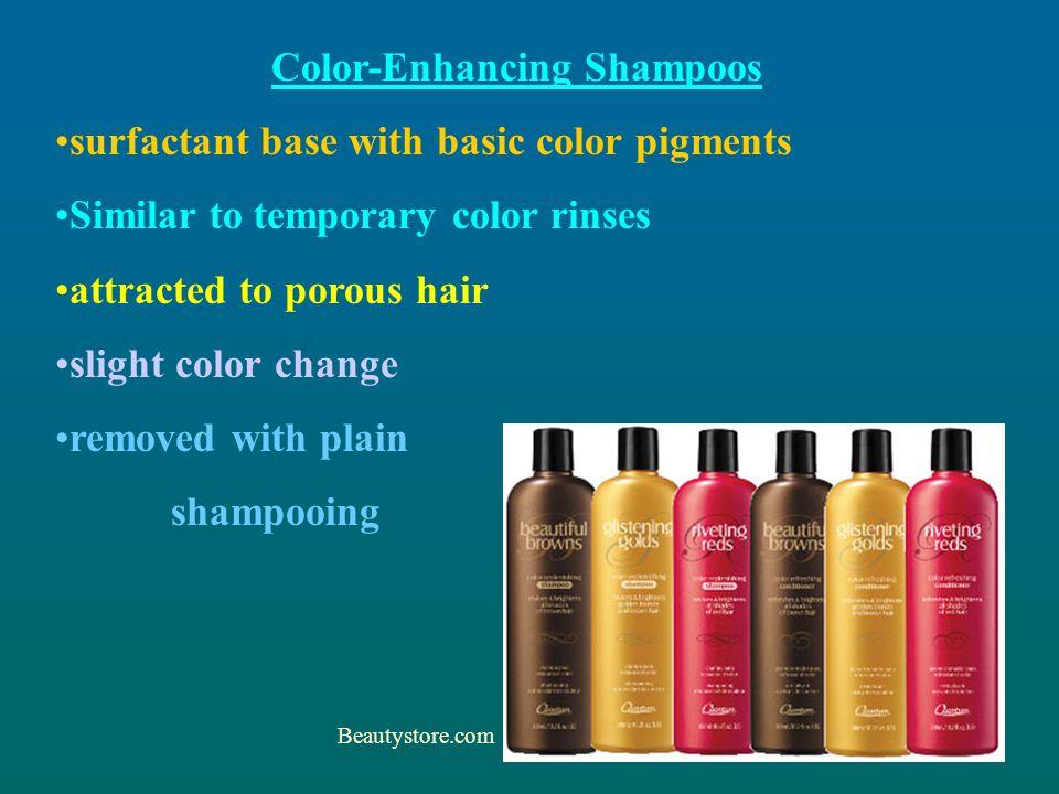 Color-Enhancing Shampoos