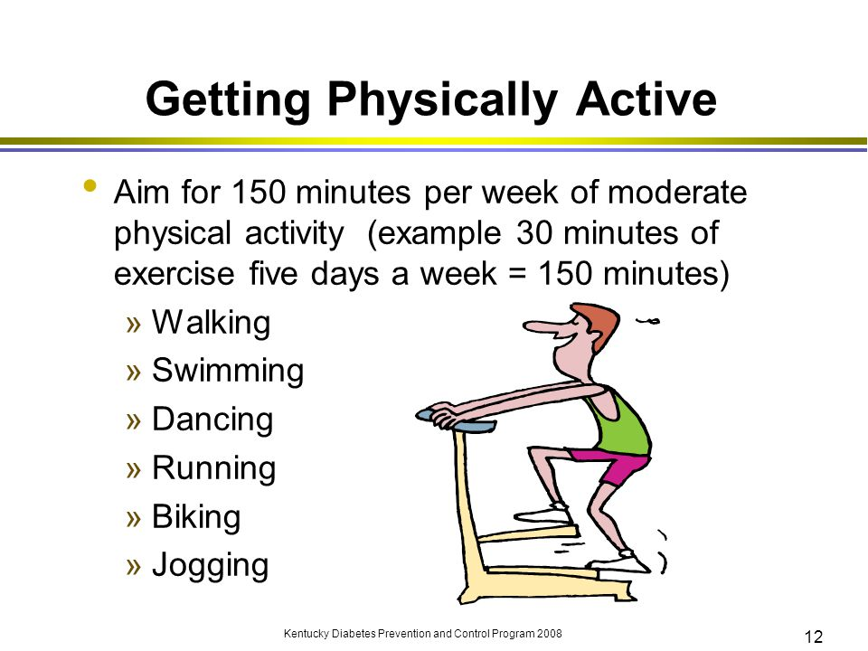 Getting Physically Active