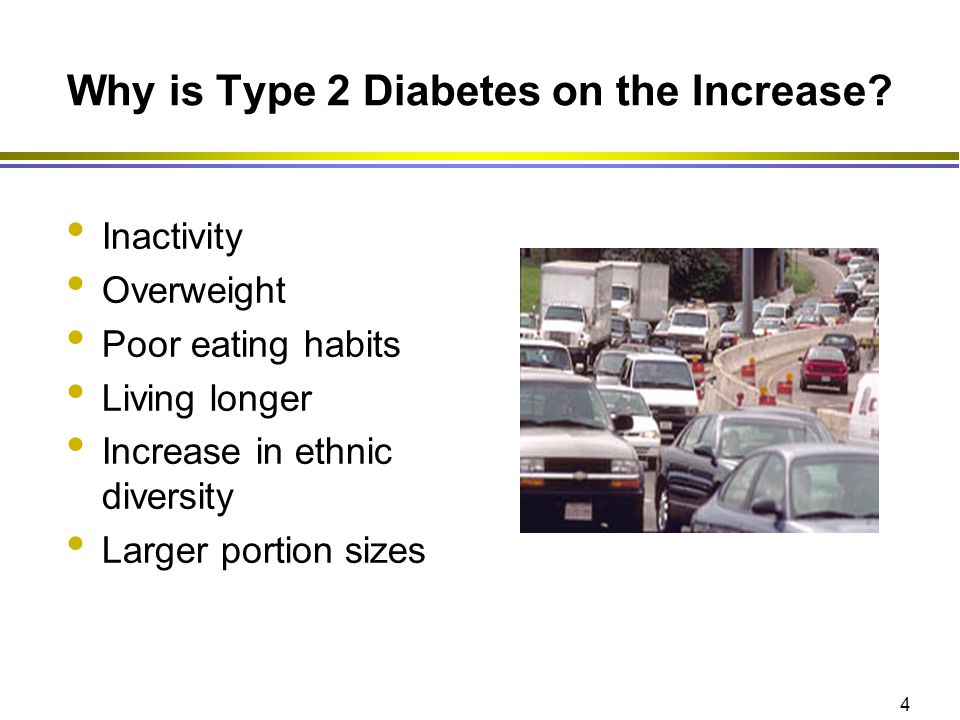 Why is Type 2 Diabetes on the Increase