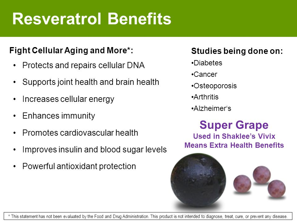 Used in Shaklee's Vivix Means Extra Health Benefits