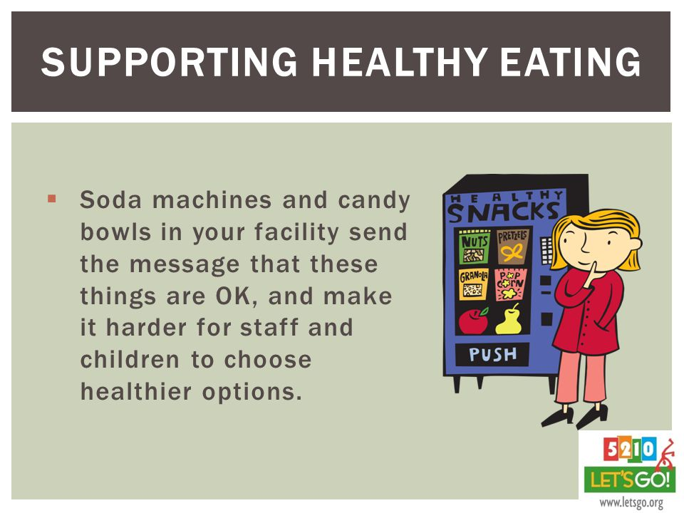 Supporting Healthy Eating