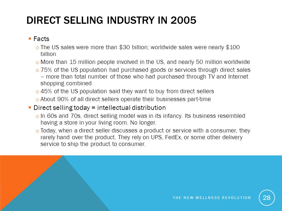 Direct selling industry in 2005