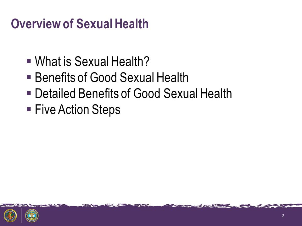 Overview of Sexual Health