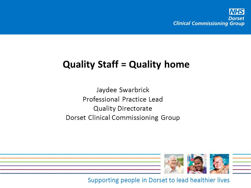 Quality Staff = Quality home