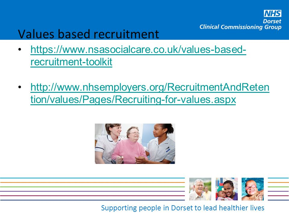 Values based recruitment