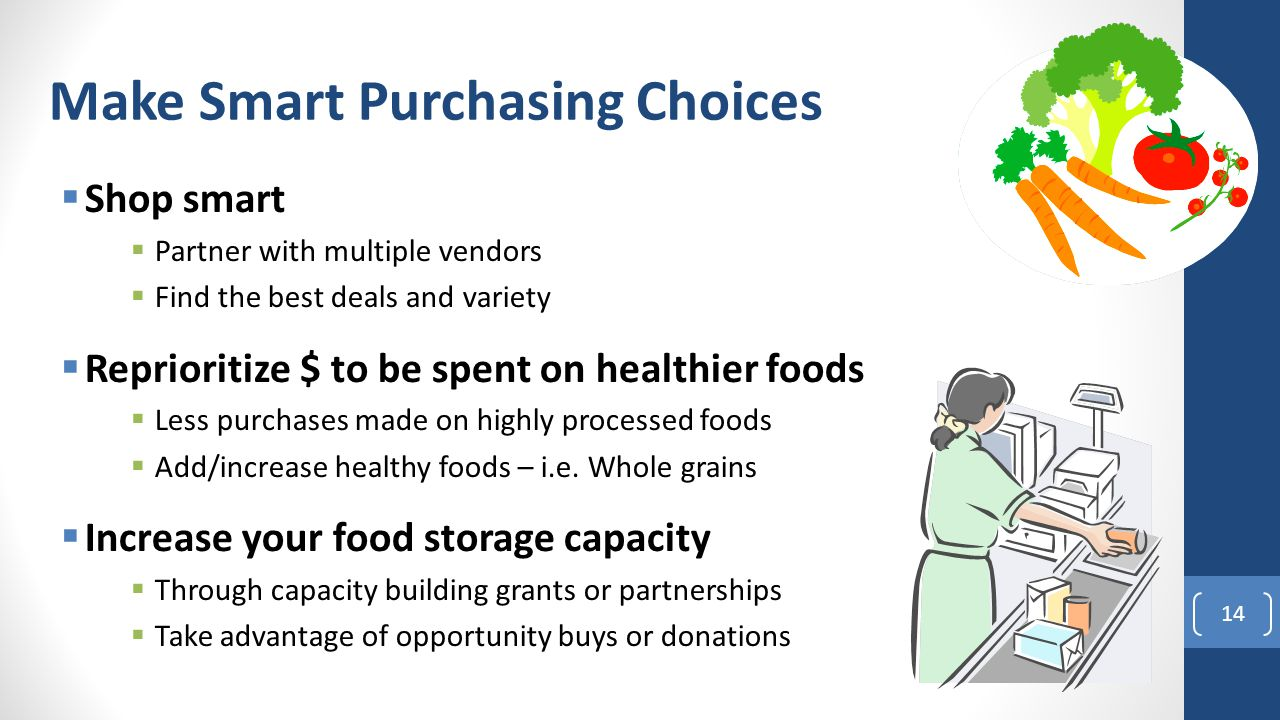 Make Smart Purchasing Choices