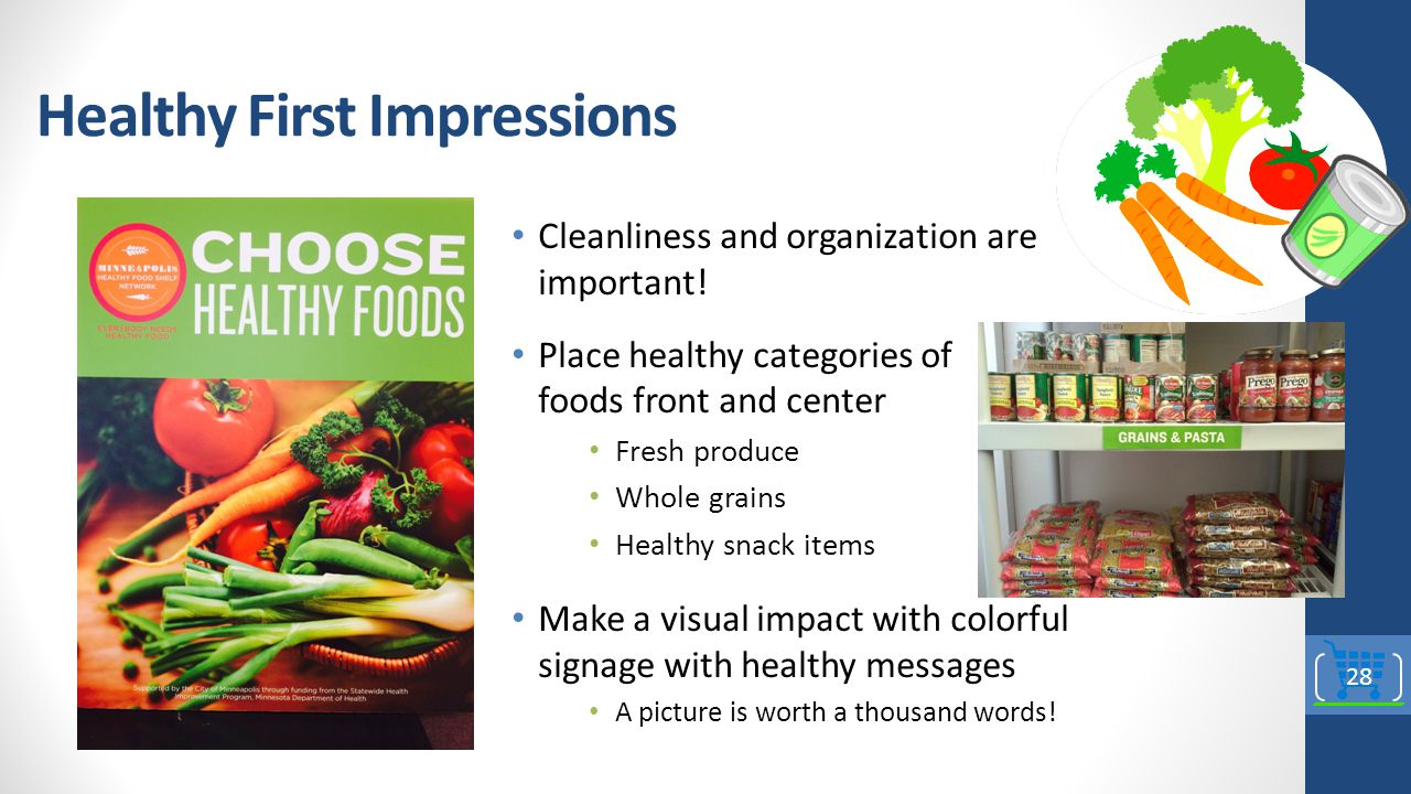 Healthy First Impressions