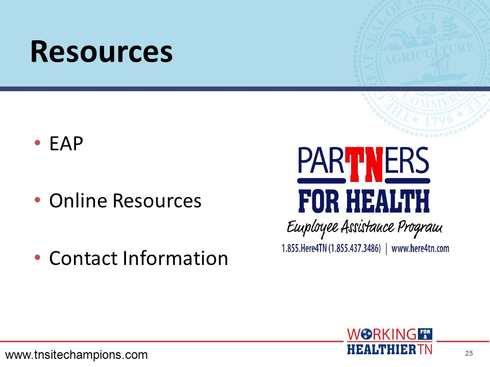 Resources EAP Online Resources