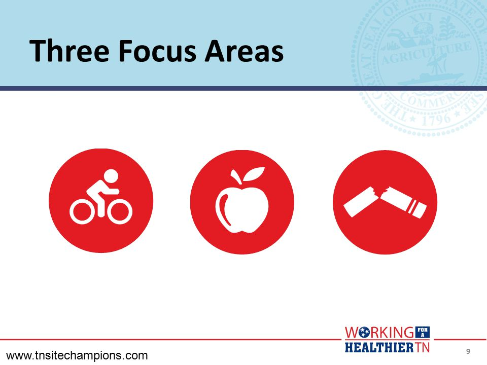 Three Focus Areas www.tnsitechampions.com