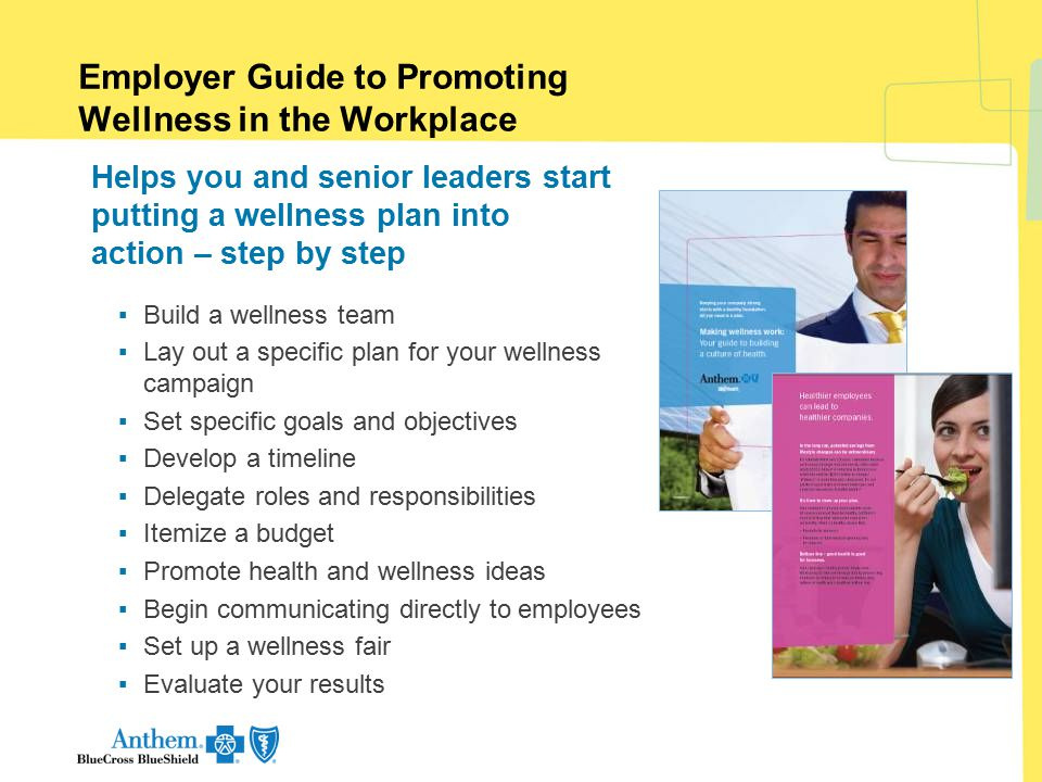 Employer Guide to Promoting Wellness in the Workplace