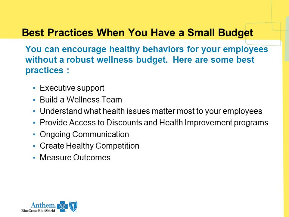Best Practices When You Have a Small Budget