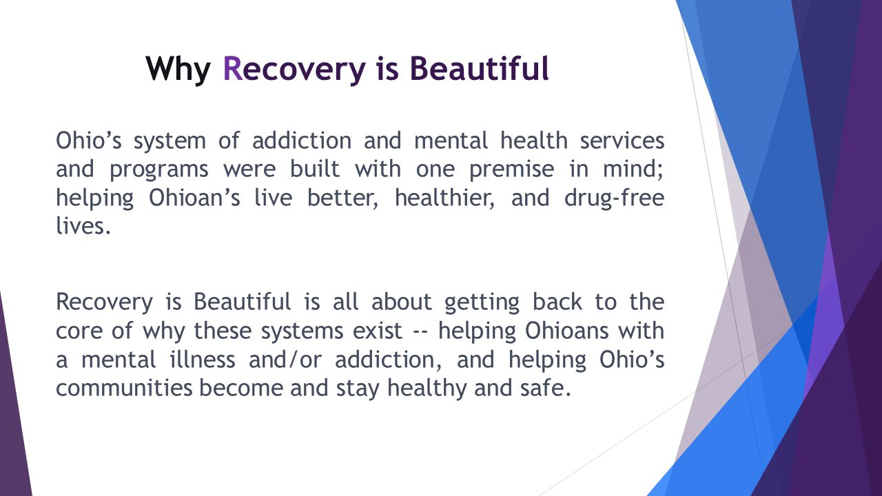 Why Recovery is Beautiful