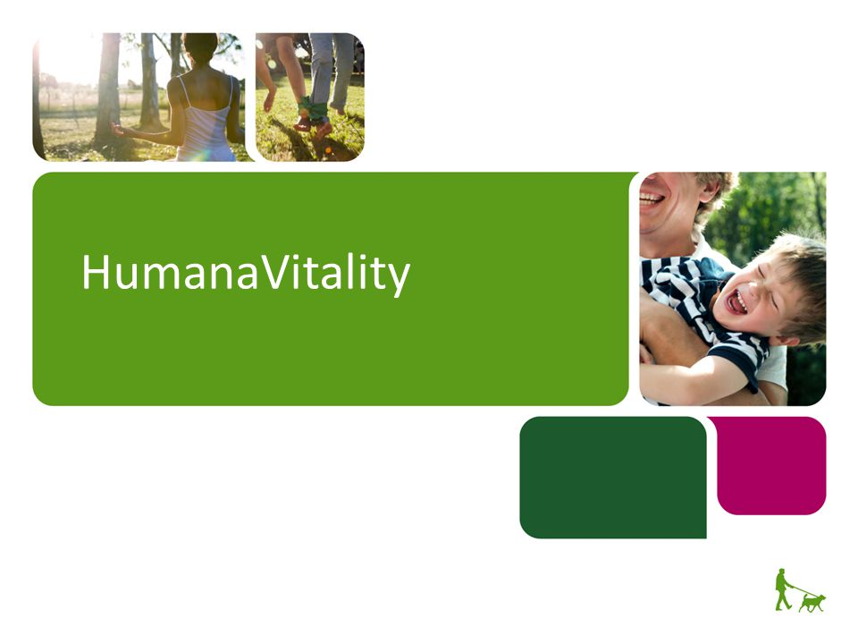 HumanaVitality Welcome.