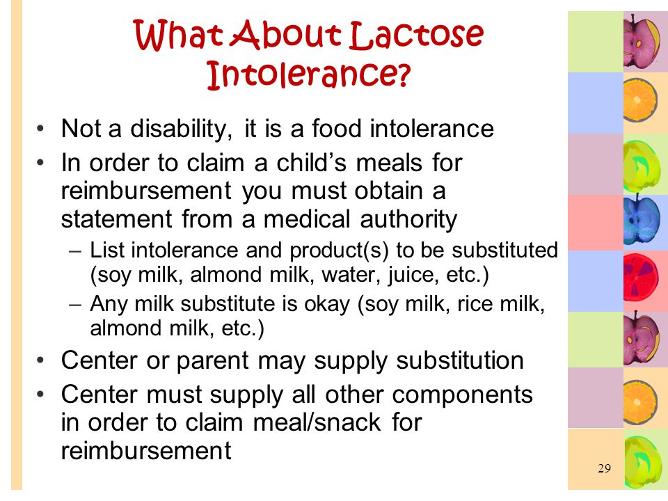 What About Lactose Intolerance