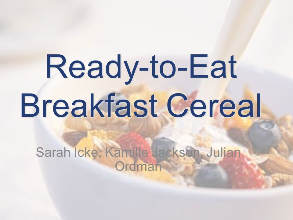 ready to eat cereal swot analysis $35000 | breakfast cereals in spain summary please choose the suitable license type from above more details are at given under tab report license types below.