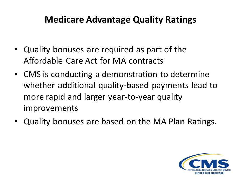 Medicare Advantage Quality Ratings