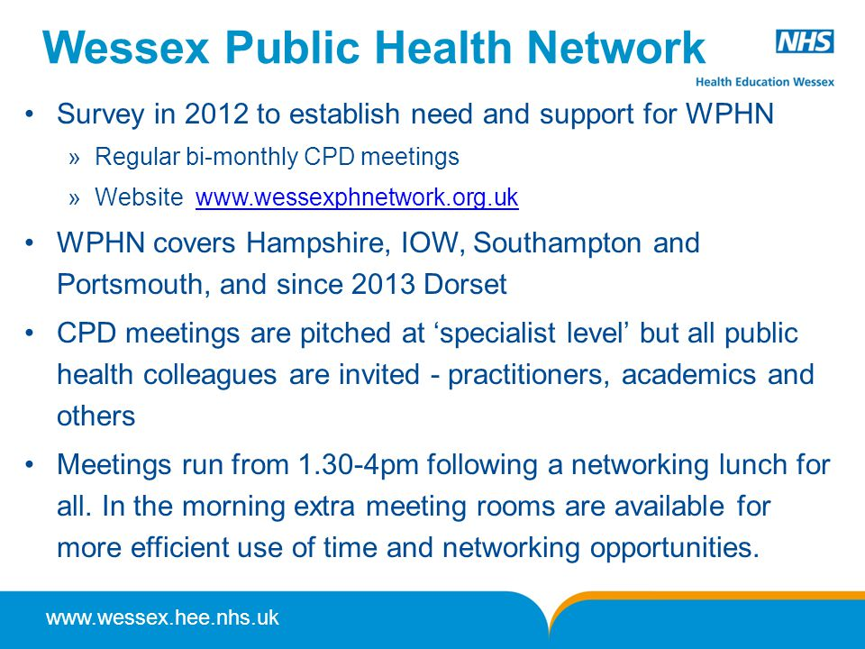 Wessex Public Health Network