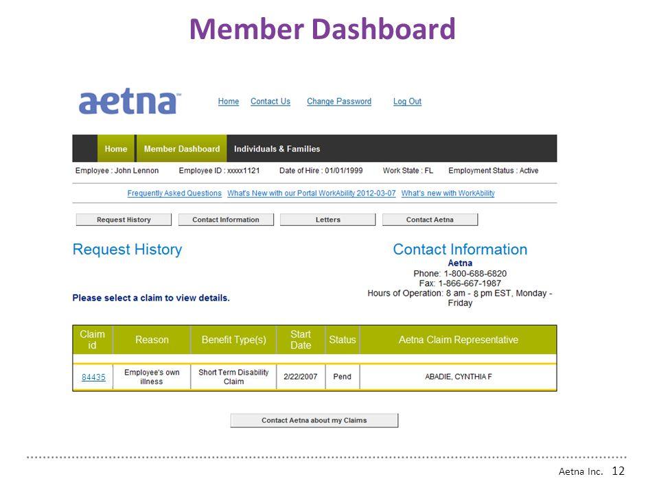 Member Dashboard 84435