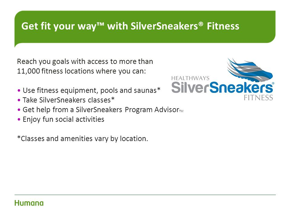 Get fit your way™ with SilverSneakers® Fitness