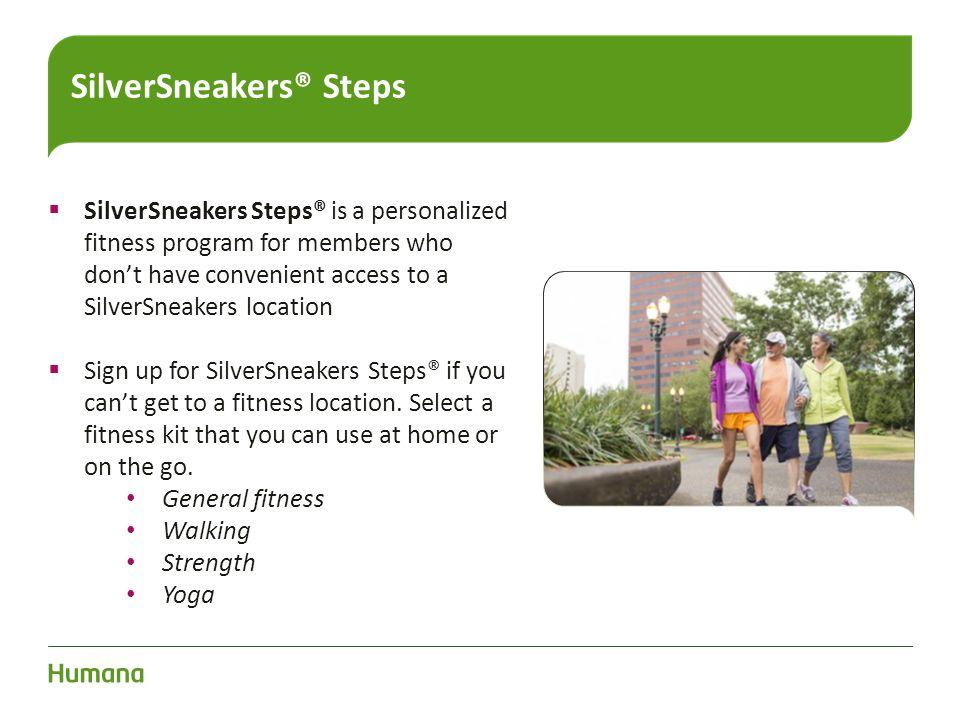 SilverSneakers® Steps
