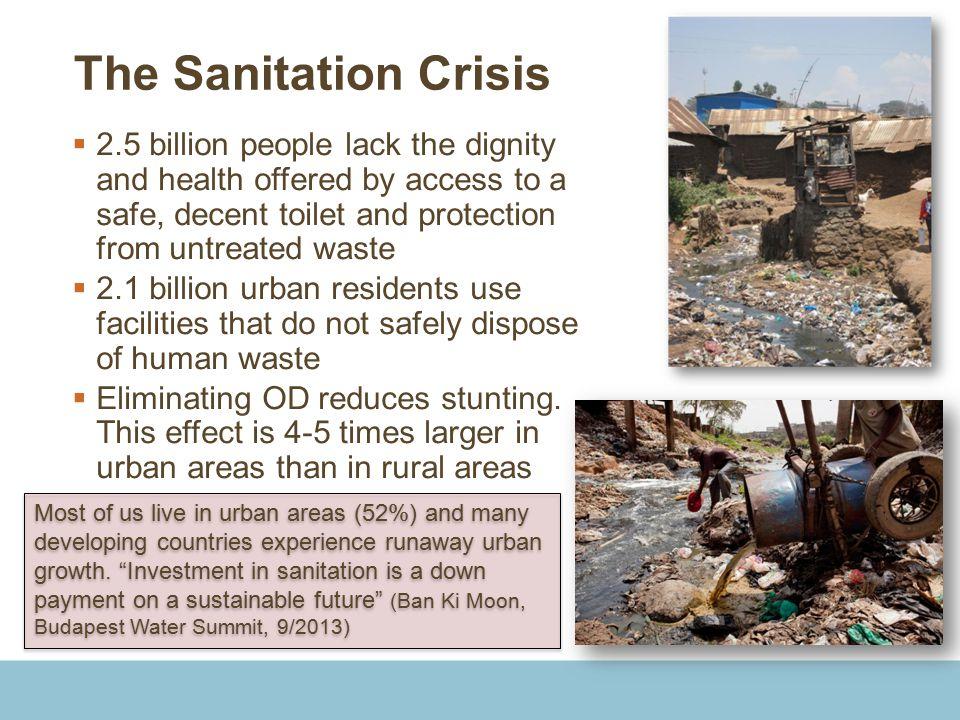 The Sanitation Crisis