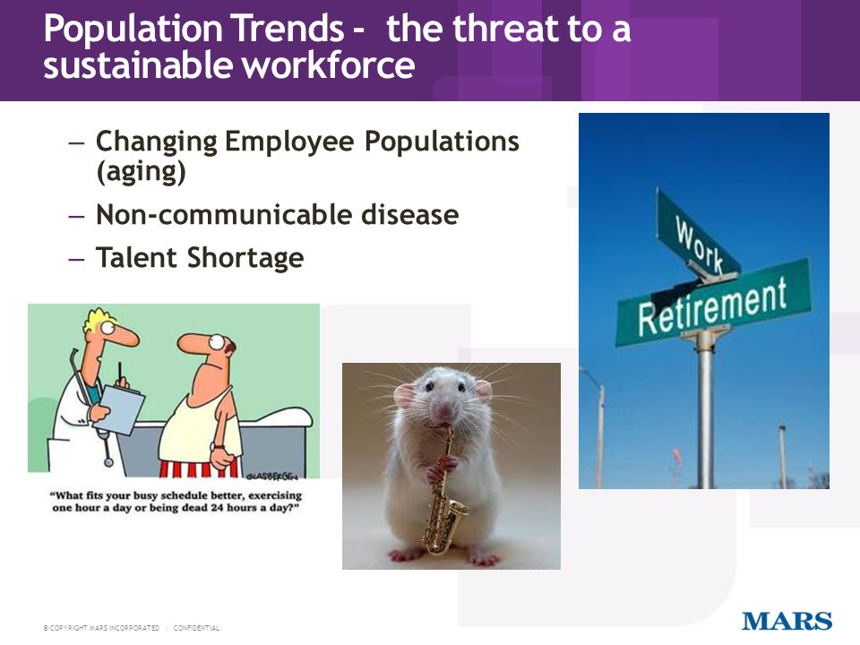 Population Trends - the threat to a sustainable workforce