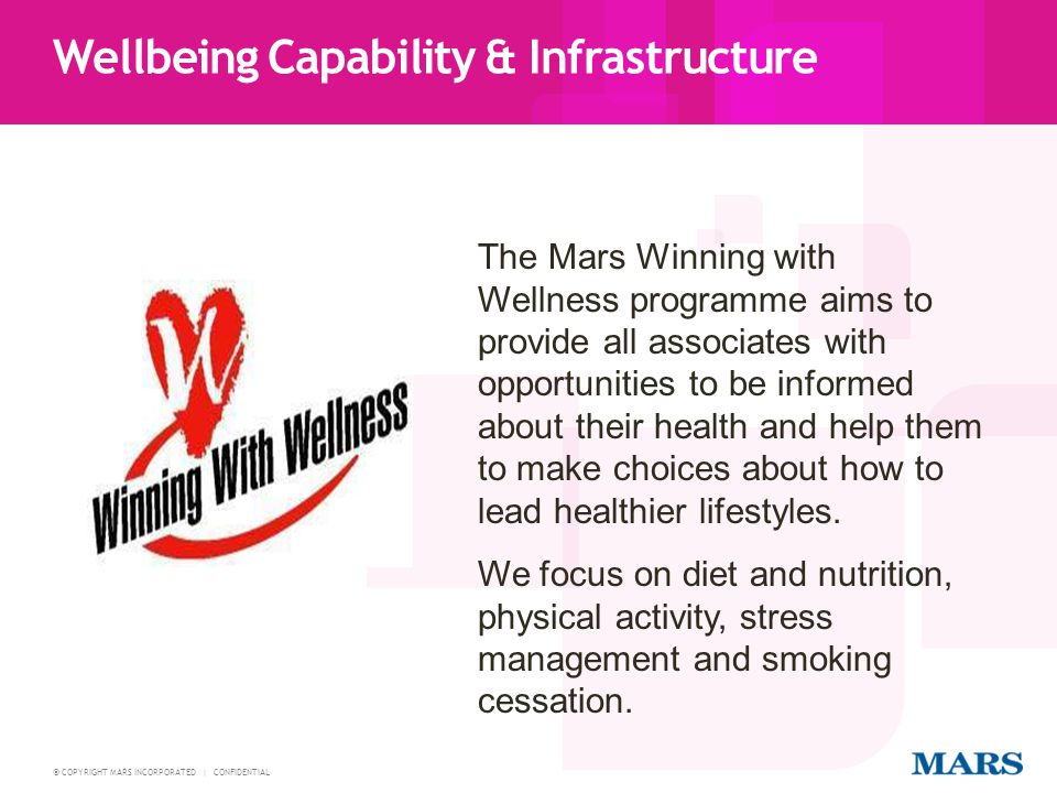 Wellbeing Capability & Infrastructure