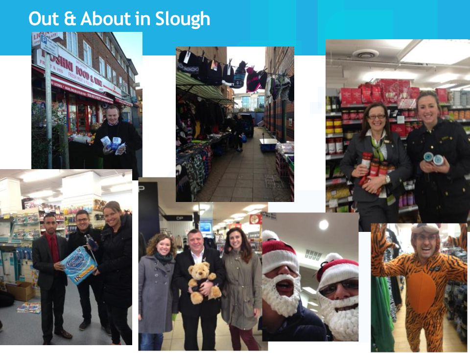Out & About in Slough