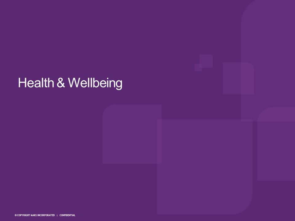 Health & Wellbeing 8