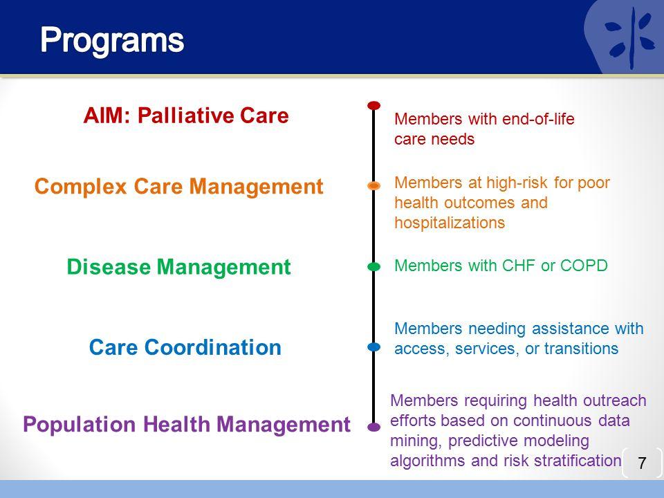 Complex Care Management