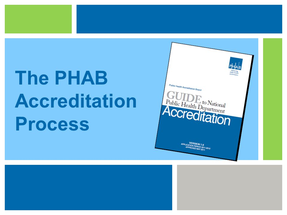 The PHAB Accreditation Process