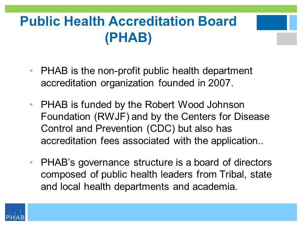 Public Health Accreditation Board (PHAB)