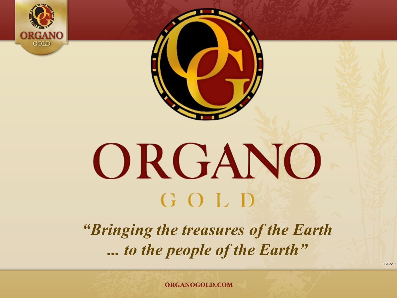 Bringing the treasures of the Earth ... to the people of the Earth