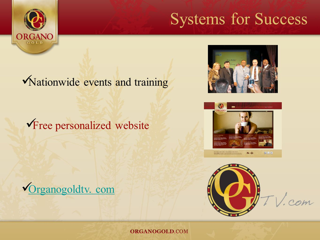 Free personalized website