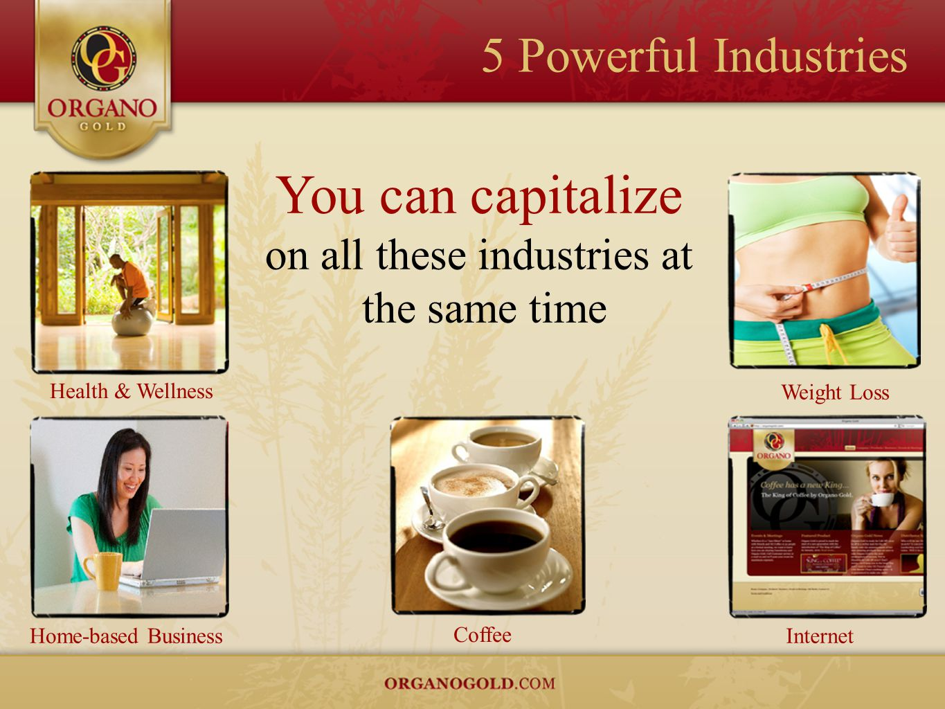 You can capitalize on all these industries at the same time