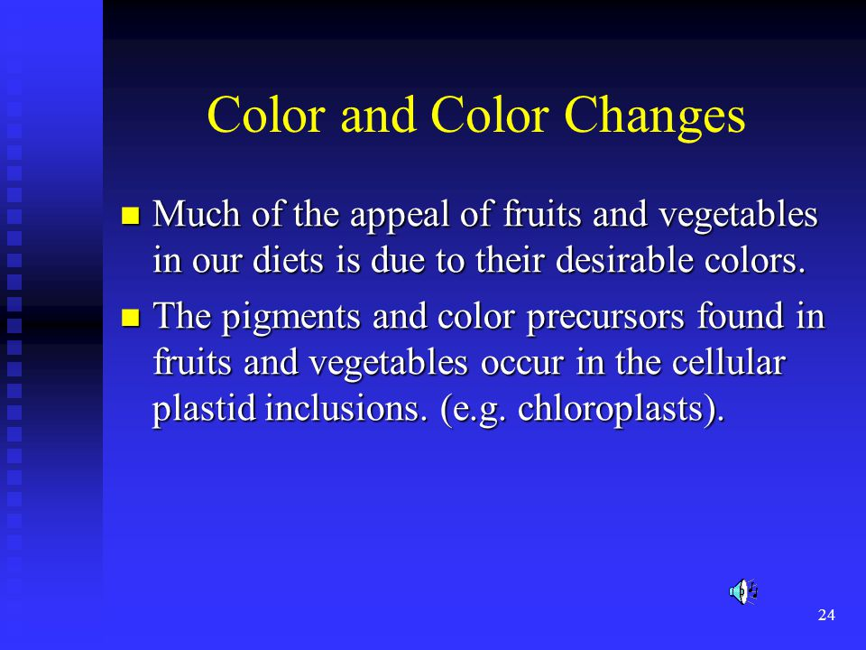Color and Color Changes